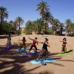 Yoga stage désert retraites